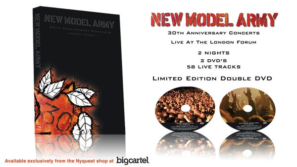 Image of New Model Army 30th Anniversary Live DVD