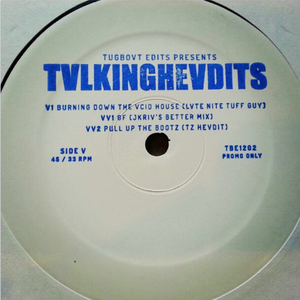 Image of TBE1202 - Talking Headits Vol 1 - Ft. Jkriv, Late Nite Tuff Guy, TZ