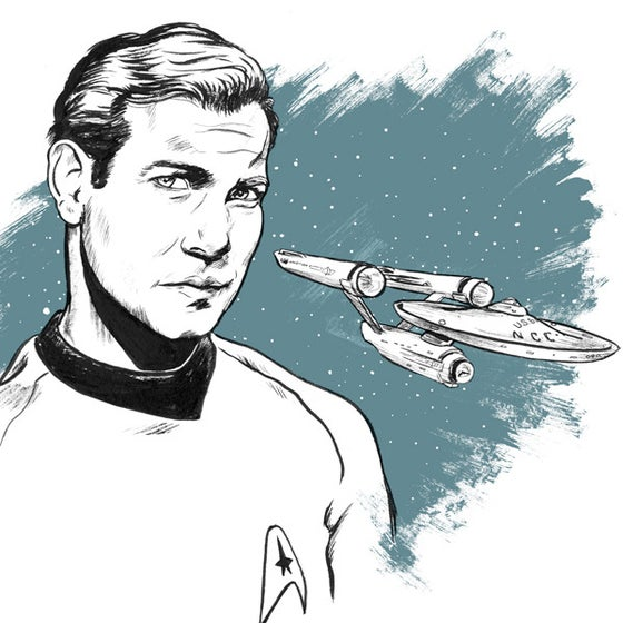 Image of James Tiberius Kirk (Shatner)
