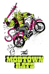 Image of Mob Town Rats Screen Print