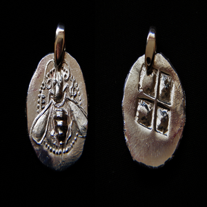 Image of Honey Bees of Ephesus Pendant