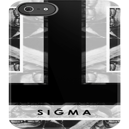 "Image of ""SIGMA"" iPhone 5 Case [Black]"