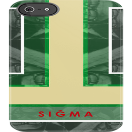 "Image of ""SIGMA"" iPhone 5 Case [Red]"