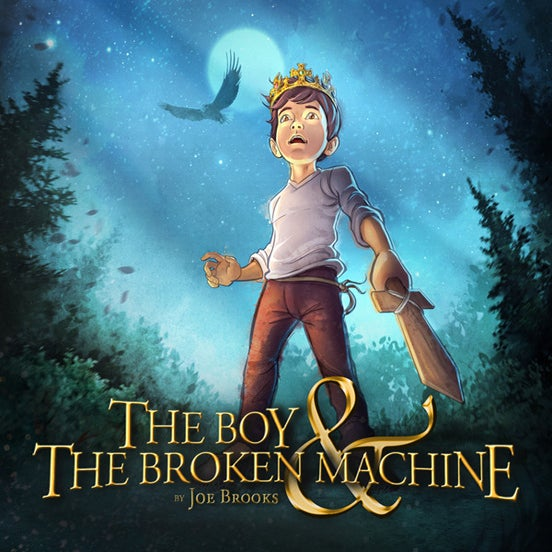 the boy and the broken machine