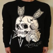 Image of ARROW SKULL ROSE CREW
