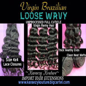 Image of Virgin Brazilian Loose Wavy