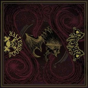 """Image of Doomraiser/Caronte """"split"""" 12"""" LP (coloured vinyl)"""
