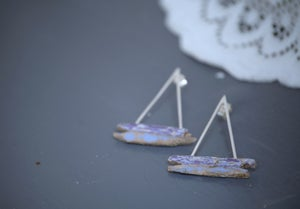 Image of 'Tall Boat' Earrings