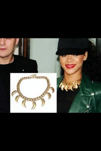 Image of Rihanna Inspired Claw Necklace
