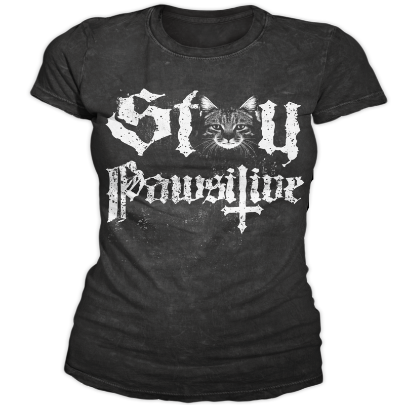 Image of Stay Pawsitive - Women's Tee