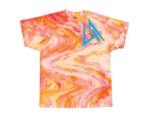 Image of SUMMER in L.A.: Orange Swerve T-Shirt