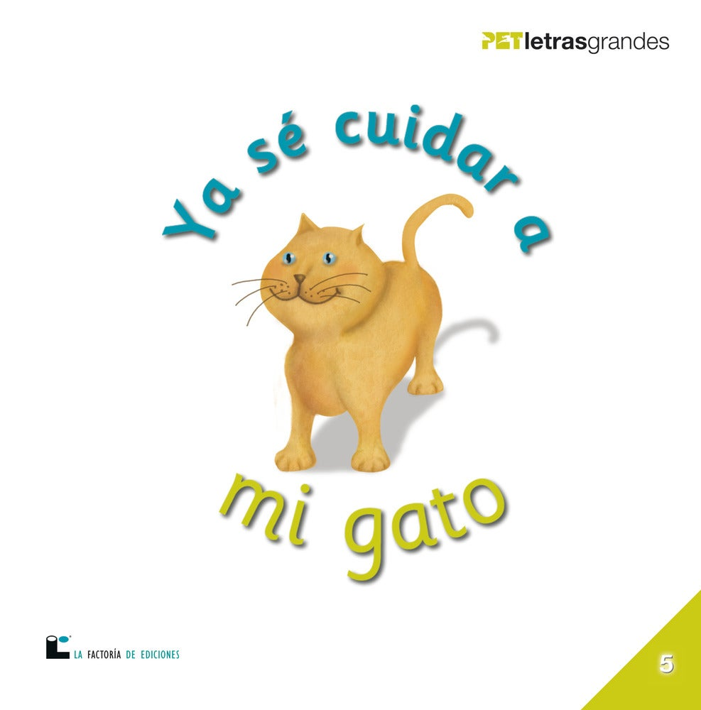Image of Ya sé cuidar a mi gato