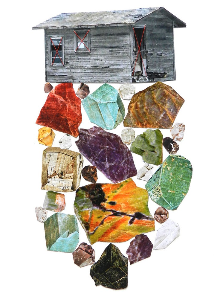 """Image of Print of """"Minerals"""""""