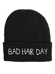 Image of BAD HAIR DAY BEANIE