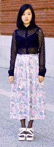 Image of Vintage Floral Skirt