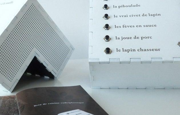 Image of Livre de cuisine radiophonique