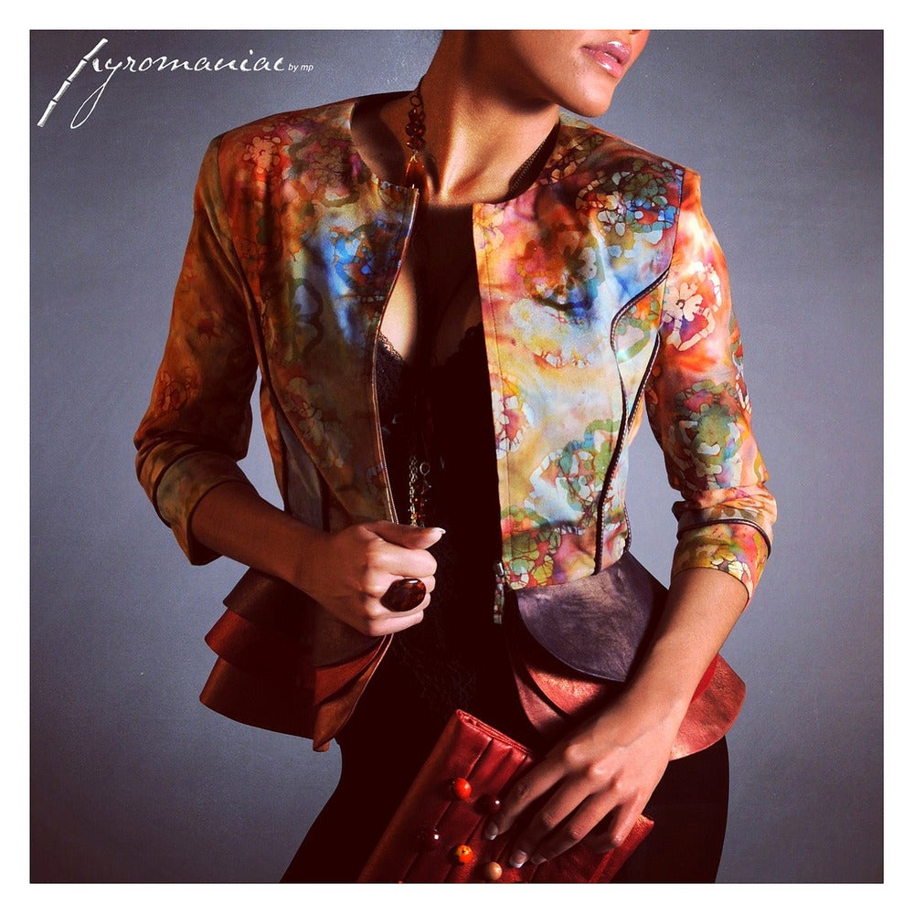 "Image of ""Lacey"" jacket cosmo"