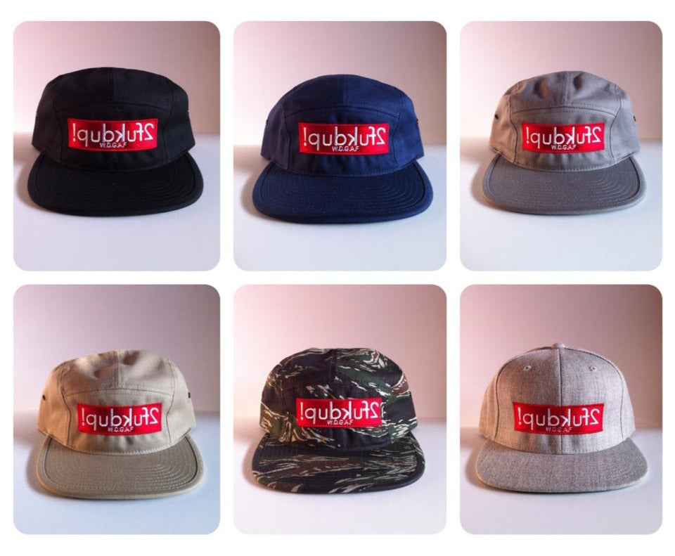 Image of W.D.G.A.F. 5 Panel & 6 Panel  Snapbacks