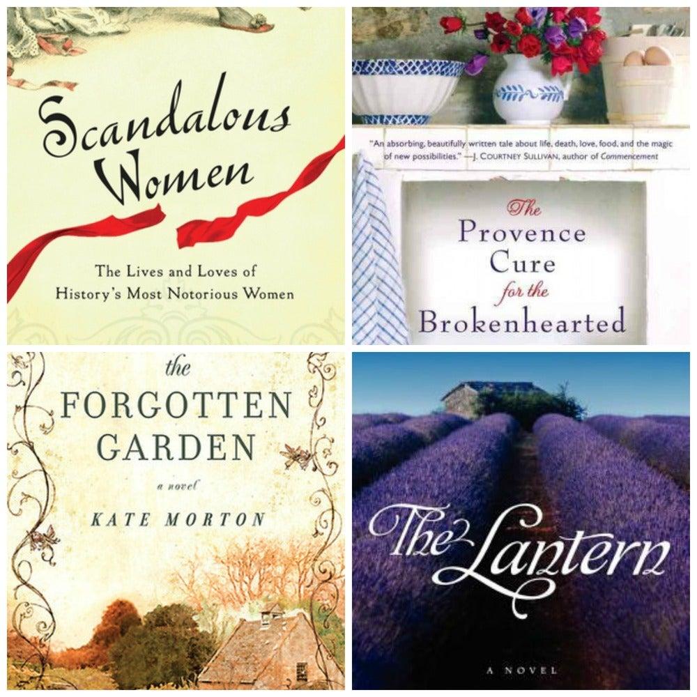 Image of bookshelf: book group favorites