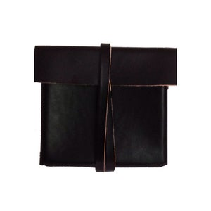 Image of The Box Clutch - Black