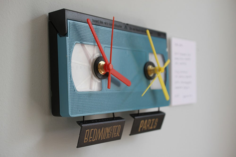 Image of TICK TOCK Timezone VHS Clock