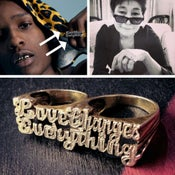 Image of Love Changes Everything (Two-Finger Ring)