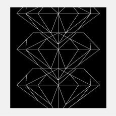 Image of Pattern Diamond Poster