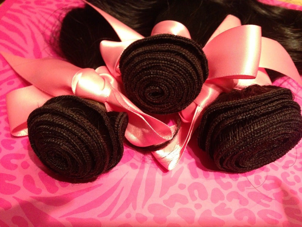 Image of 4piece Bundle Virgin Brazilian Body Wave