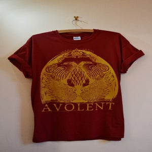 "Image of Avolent ""Two Head"" Red Tee"