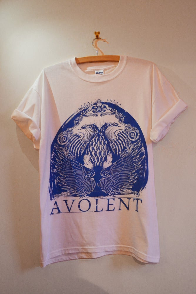 "Image of Avolent ""Two Head"" White Tee"