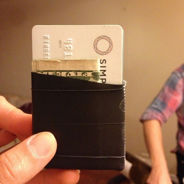 Image of recycled wallet