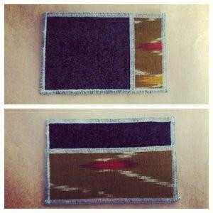 Image of 3 pocket wallet