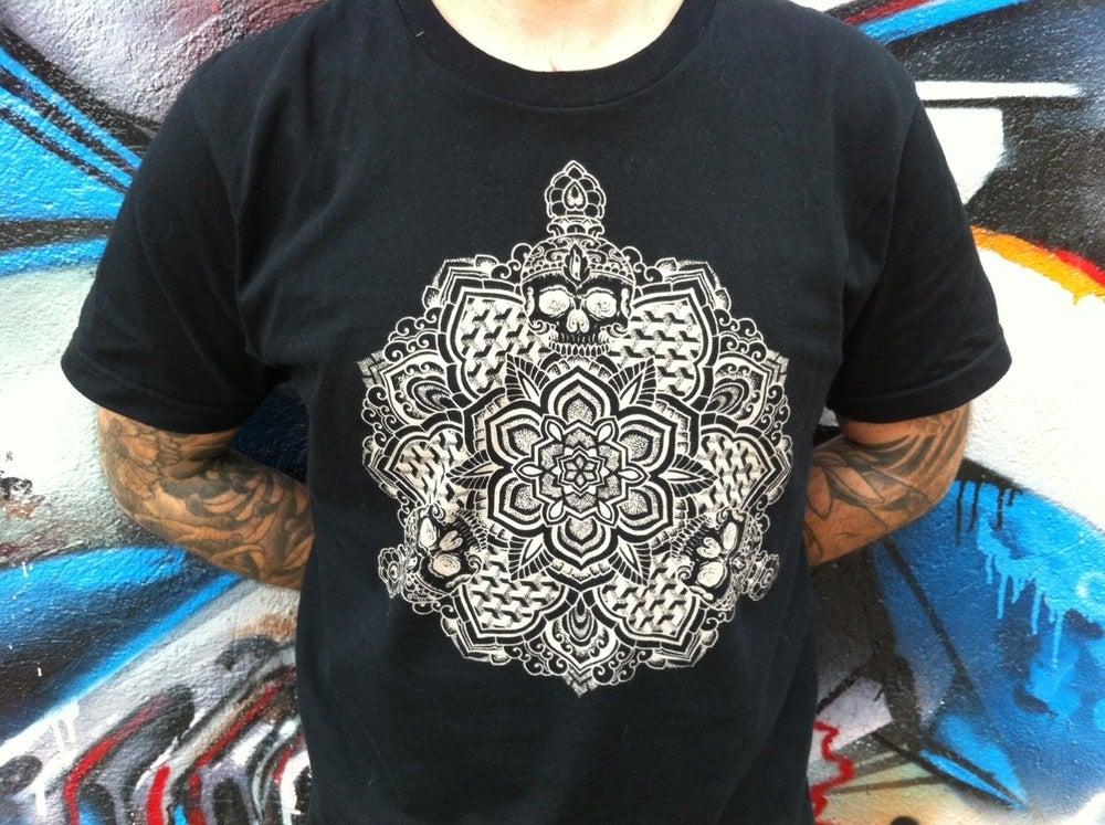 Image of Skull Mandala T-Shirt