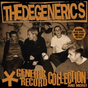 "Image of THE DEGENERICS ""Generic Record Collection"" CD"