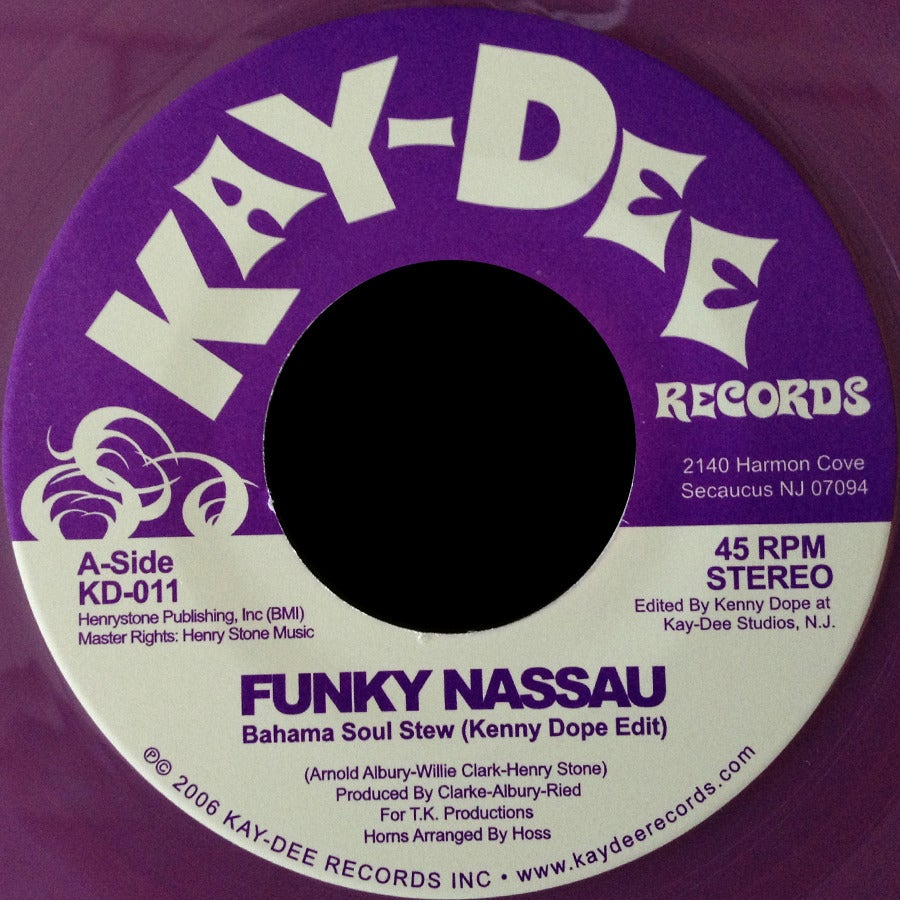 Image of KD011-FUNKY NASSAU LIMITED EDITION