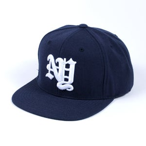 Image of New York OE Snapback Cap (Navy)