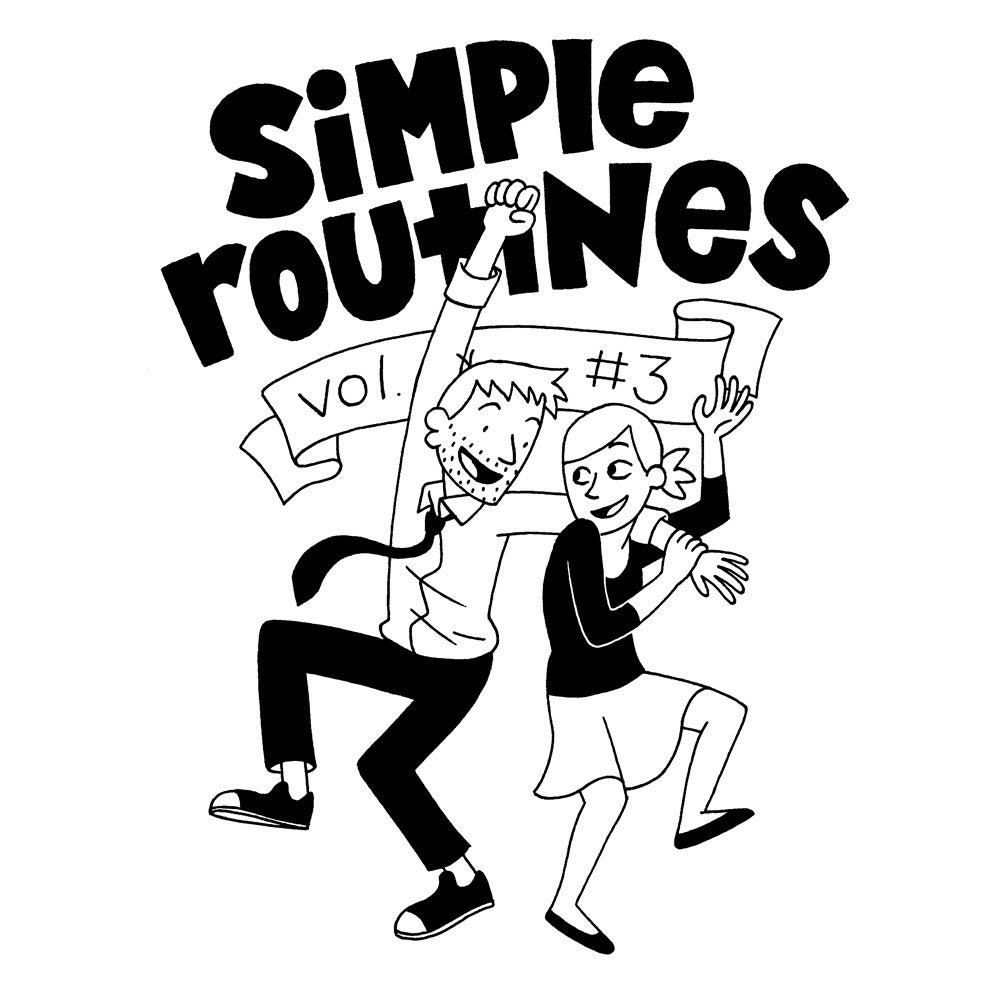 """Image of JP Coovert """"Simple Routines Volume 3"""""""