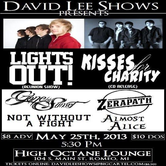 Image of Lights Out! / Kisses For Charity / Gone By Sunset and more!