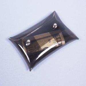Image of BLACK MINI LUCITE CARD HOLDER