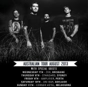 Image of ADELAIDE - TICKET Senses Fail [10th August 2013]