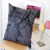 Image of winter nest cushion cover