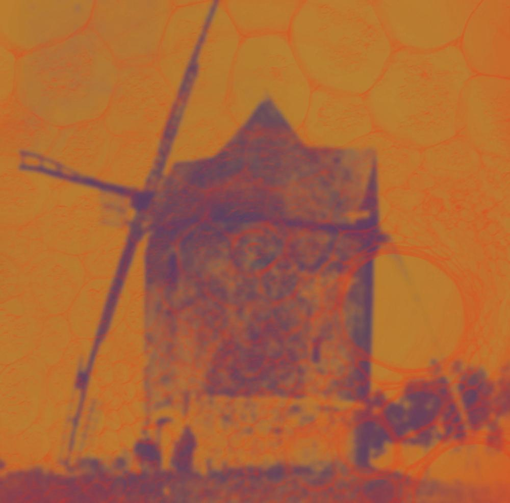 """Image of The Asteroid # 4 - 'The Windmill of the Autumn Sky' Ltd 12"""" with download card"""