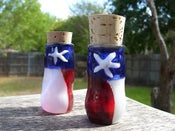 Image of Rustic Texas Flag Jar