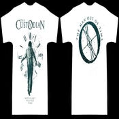 "Image of The Custodian ""Man Out of Time"" White Tee"