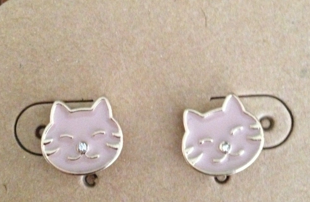 Image of Smitten Kitten Earrings