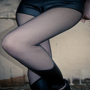 Image of Fishnet leggings
