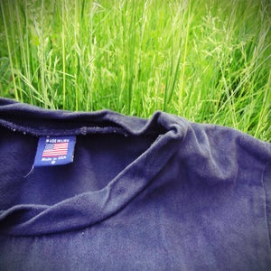 Image of navy 'khaki' sweater
