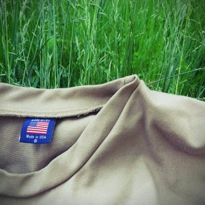 Image of khaki sweater