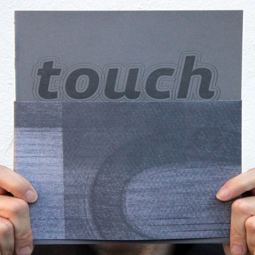 Image of touch: the vista sans wood type project