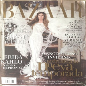 Image of Harper's Bazaar Spain, August 2007